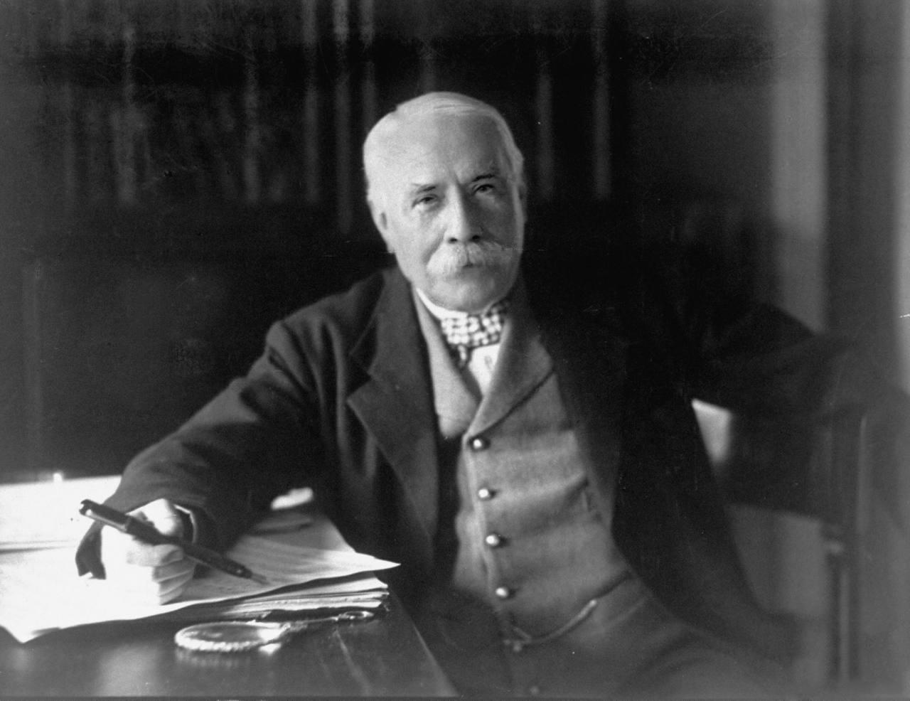 a photo of Edward Elgar